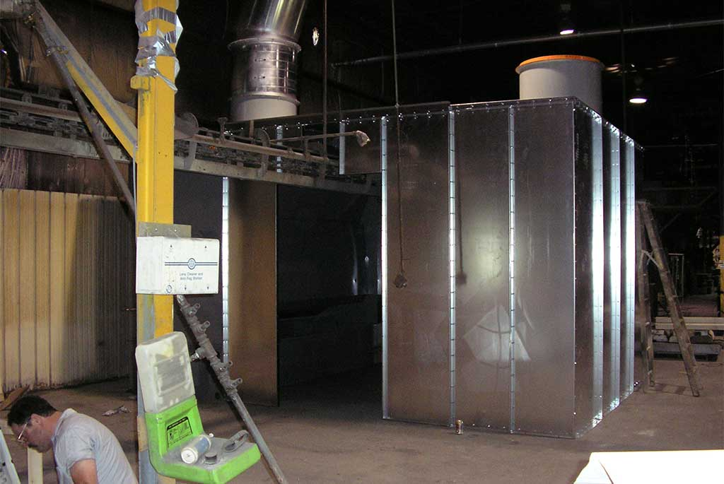 Wet Spray Booth